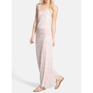 Soft Joie Sz S Ruched Maxi Dress EUC